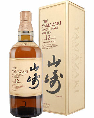 Suntory Yamazaki 12 Year Japanese Single Malt Whisky Scotch 750ml Unopened