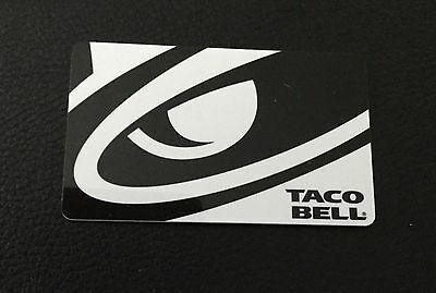 Taco Bell Gift card, 15$