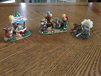Lot Of 3 - Fitz And Floyd Teeny Tiny Tails Vintage