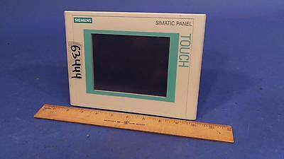 Siemens 6AV6 640-0CA11-0AX1 RS-485 Touchpanel Touch Panel TP177 Micro for PLC