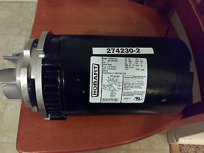 Hobart electric Motor, 2HP motor, 3PH motor, used condition, electric motor