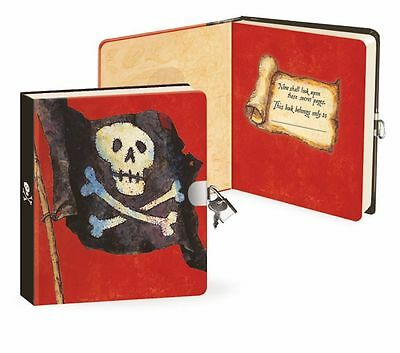 Lockable Diary for Boys, Diary with lock and keys Pirate, Boys Journal