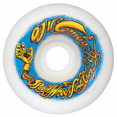 OJ - Elite Combos 60MM 95A White Skateboard Wheels