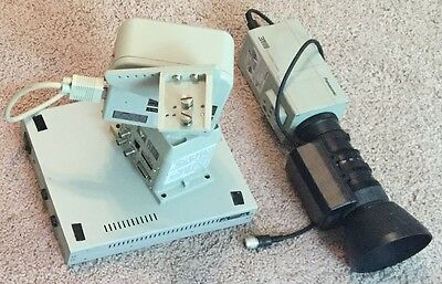Panasonic AW-E350P Color Video Camera w/ motorized pan/tilt and AC Adaptor