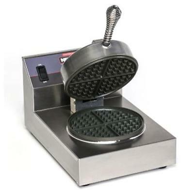 Nemco - 7000A-S - Single Belgian Waffle Baker with Silverstone Plates