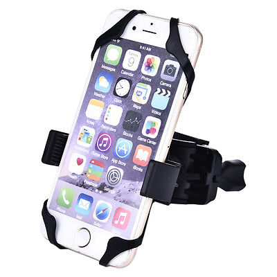 Universal Motorcycle MTB Bicycle Bike Handlebar Mount Holder For Cell Phone GPS