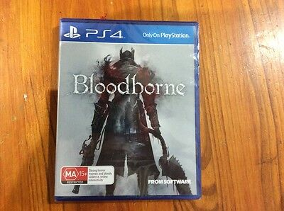 Bloodbourne for PS4. New and sealed.