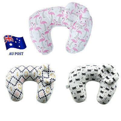 U-type multi-function Nursing Breast Feeding Pillow Cover Baby Head Support EA