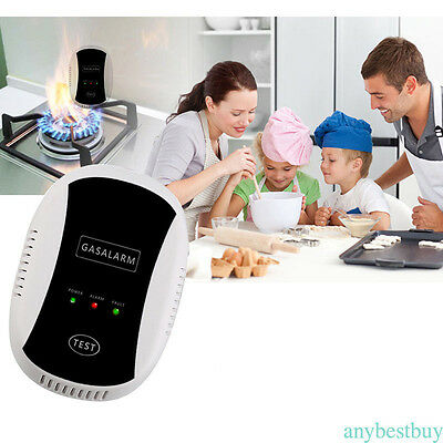Wireless CO Natural Gas Sensor Leak Detector Alarm High Sensitive Household