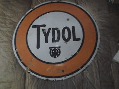 """Tydol - 42"""" Pole  Sign - With The.. """"two""""...- Logo  - Scarce - Lqqk"""