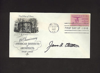 JAMES B. AITKEN * signed FDC envelope by architect of Aitken Collin & Associates