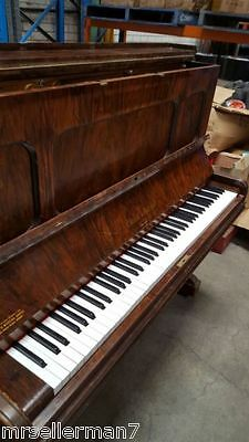 1930s Collard & Collard Vintage Antique Wooden Large Shape Piano