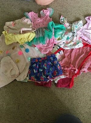 EUC Baby Girl's Bag Of Clothes Size 00-0