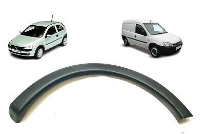 Vauxhall Corsa C 00-07, Combo 01-10 Front Right Wheel Arch Trim W/o Side Skirts