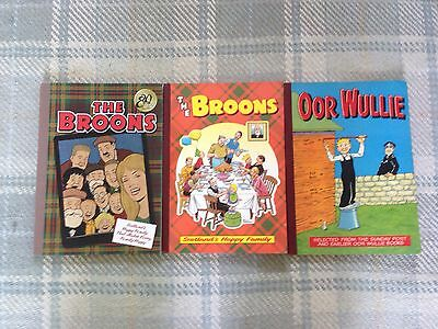 The Broons and Oor Wullie Annuals 1978, 1997 and 2015