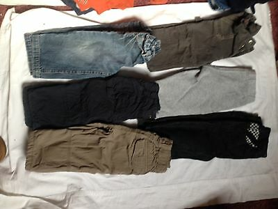 Baby Boy 6pair Of Pants Size 1