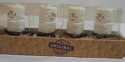 The Original Smores Tealight Candles Set of 4 New in Box