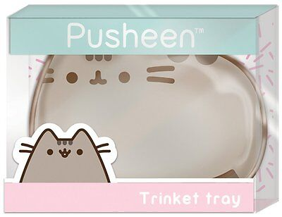 NEW Pusheen Ceramic Cat Shaped Trinket Tray Accessories Holder Storage Organizer