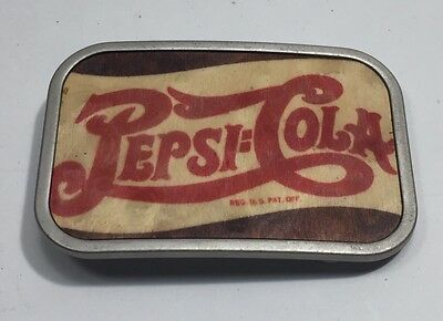Pepsi Cola Belt Buckle