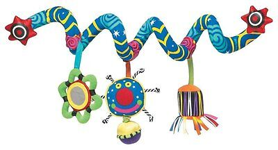 Manhattan Toy for Baby Whoozit Activity Spiral Stroller and Travel Activity New