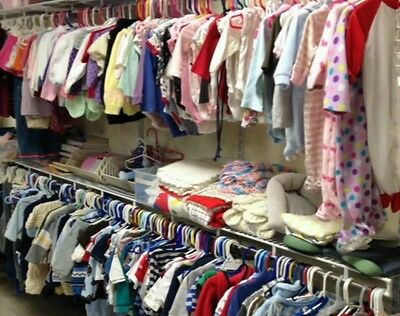50 PC Children's Wholesale Clothing Lot Girls Assorted Sizes Mixed Resale