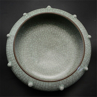 Chinese Old Cracked Glaze Porcelain Writing Brush Washer