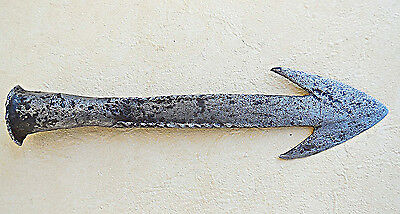 Antique Steel Harpoon 19Th Century