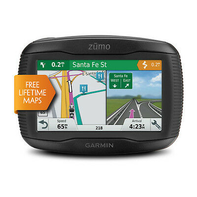 Garmin Zumo 395 LM Motorcycle Sat-Nav for Western Europe Bluetooth handsfree