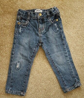 DKNY unisex baby jeans - age 18 months