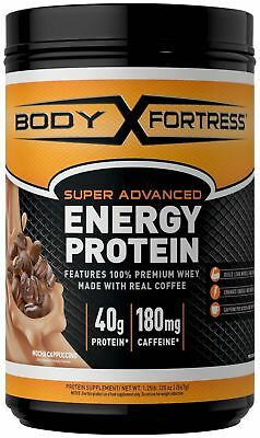 Body Fortress Energy Protein - Mocha Cappuccino 1.25 Pounds