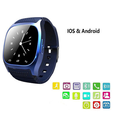 M26 Montre Connectée Smart Watch Bluetooth Tactile Apple iPhone Android Samsung