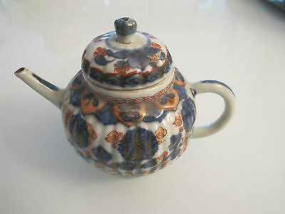 Antique 18th chinese porcelain tea pot QING dynasty/ old china ewer/