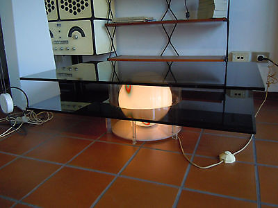 Tavolino,coffee table,MAZZEGA,lamp,lampada,design,space age,sputnik,anni 60,70