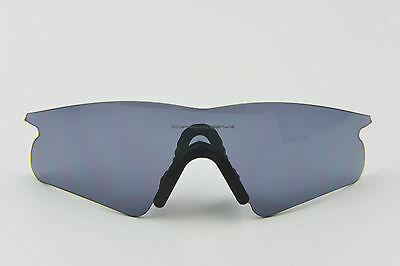 NEW Oakley M Frame Grey Extra/Replacement Lens OEM/100% Authentic Hybrid S
