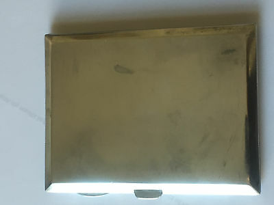 Antique Solid Silver Cigarette Case - B'ham - 153 g