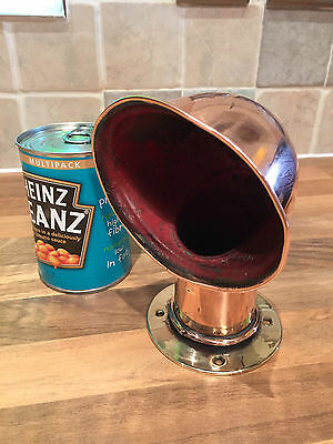 "Original Dunkirk Little Ship "" PENGUIN"" Copper Brass Dorade Air Vent Maritime"