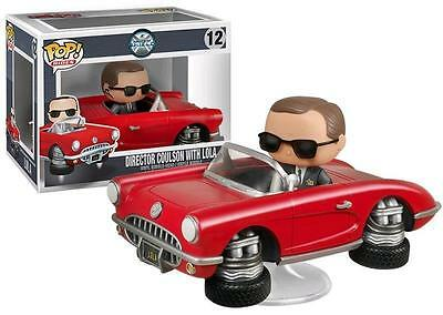VAULTED Pop Rides Agents of S.H.I.E.L.D Director Coulson Free Ship Canada New