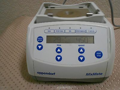 Eppendorf MixMate 5353 Digital Plate Shaker Mixer 300–3,000 rpm Tested Excellent