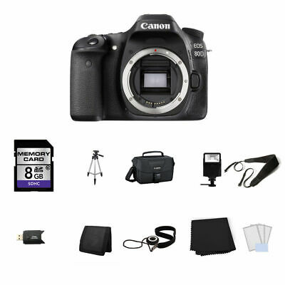 Canon EOS 80D DSLR Camera (Body Only) 8GB Full Kit