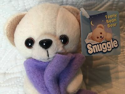 Snuggle Fabric Softener Teeny Teddy Bean Bear with Tag