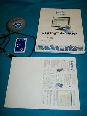 LogTag Temperature Recorder and Docking Station - TW-TRIX-16
