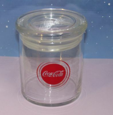 Coca Cola glass kitchen storage Jar Air Tight Red Coca-Cola