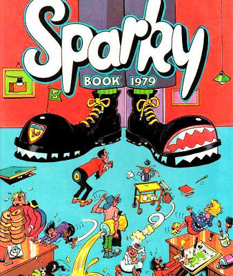 Sparky Vintage UK Comic & Annuals  on DVD