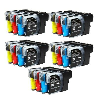 10 Non-Oem Ink Brother Lc51 Lc-51 Mfc-240C Mfc-440Cn Mfc-5860Cn Mfc-5460Cn 845Cw