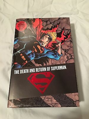 DC Comics THE DEATH AND RETURN OF SUPERMAN OMNIBUS 1st Edition NM/M