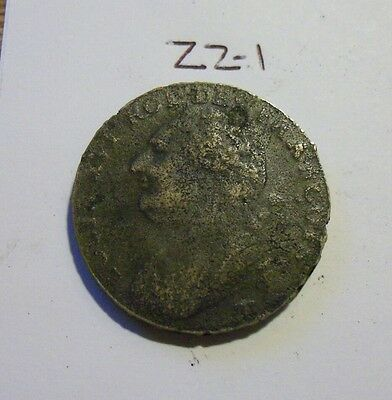 1792 Colonial era Coin (lot #zz1)