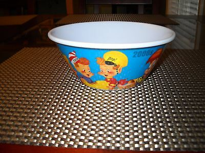 Kellogg's Cereal Rice Krispies BOWL w/ Snap, Crackle, Pop - 2006 - 100th - LNC