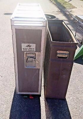 Airline Galley Cart Full Trash Recyclables Garbage Patio Bar Outdoor Kitchen