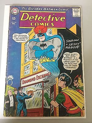 Detective Comics (1937 1st Series) #322 Signed by Sheldon Moldoff VG Very Good