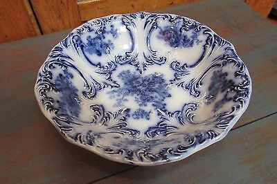 Antique Trilby Royal Porcelain Serving Bowl, Wood & Son, England
